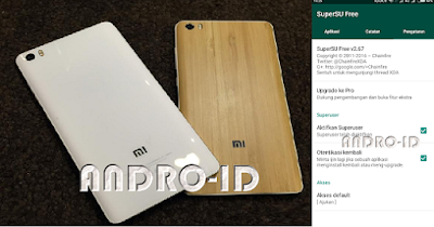 Cara Root Xiaomi Mi Note Bamboo MIUI 9 via CWM 9 (SuperSU)