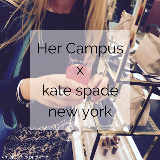 Her Campus x kate spade new york