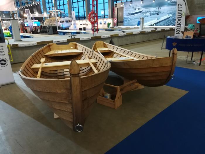 Vendia Woods Helsinki International Boat Show 2019 Is On