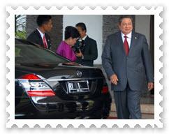 Daftar Plat Kendaraan Pejabat Indonesia