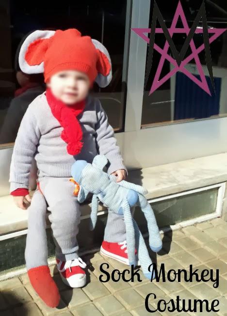 sc 1 st  House of Estrela & House of Estrela: Sock Monkey Costume Tutorial (the refashioned way!)