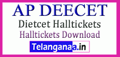 Andhra Pradesh DEECET Hall Tickets Download