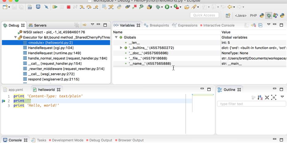 Pydev el complemento que te permite usar Python en Eclipse