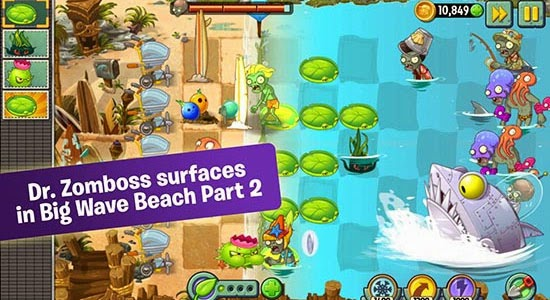 image Plants Vs Zombies 2 apk