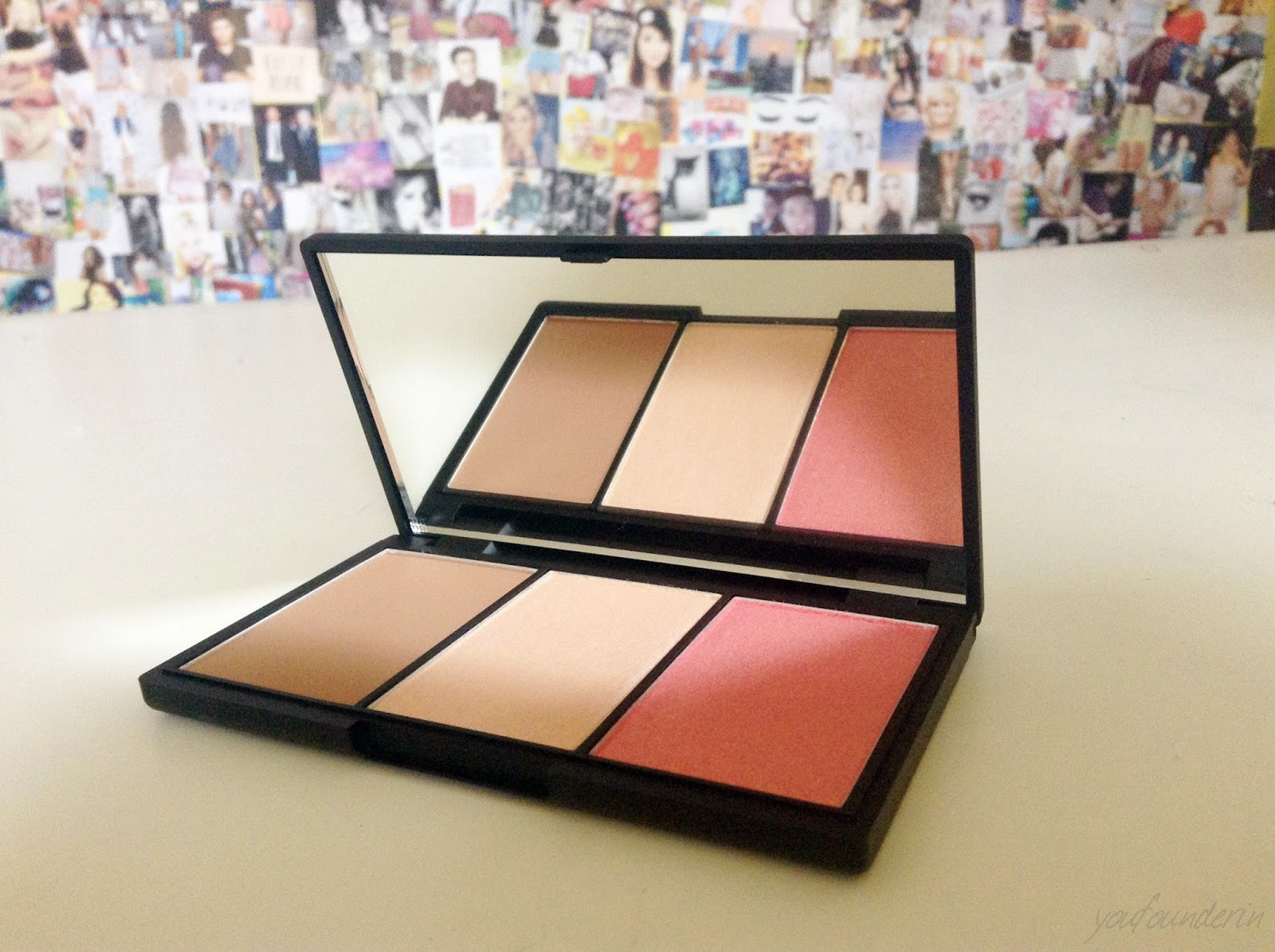 sleek face form palette