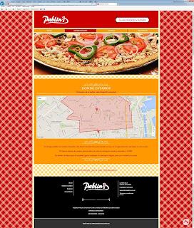 diseño web responsive para Pizzería Pablin