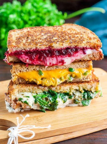 VEGAN GRILLED CHEESE SANDWICHES – THREE WAYS! #sandwiches #vegetarian