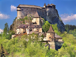 medieval castle slovakia europe eastern orava castles scenery