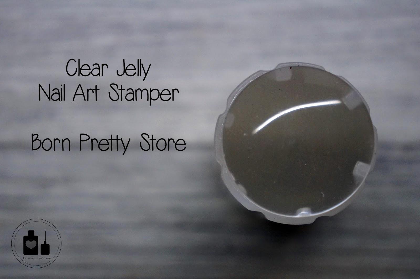 Clear nail art stamper, czyli kilka słów o super przezroczystym stemplu!