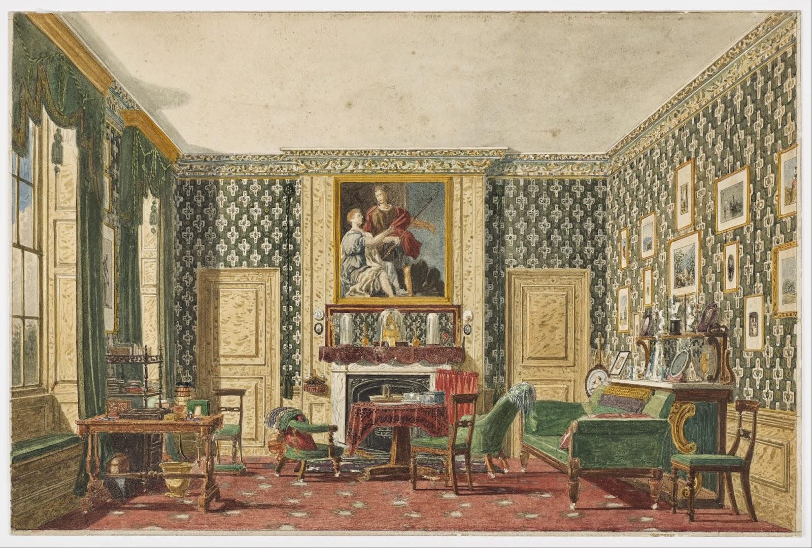 Anacr nicos recreaci n hist rica el mueble victoriano for Epoca muebles