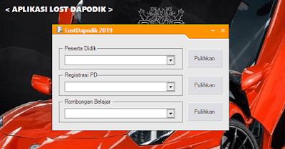 Download Aplikasi Lost Dapodik 2019 (Mengatasi Data Peserta Didik Yang Hilang)