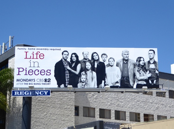 Life in Pieces series premiere billboard