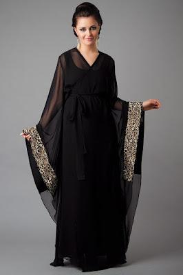 Latest and stylish abaya designs 2017 for pakistani ladies