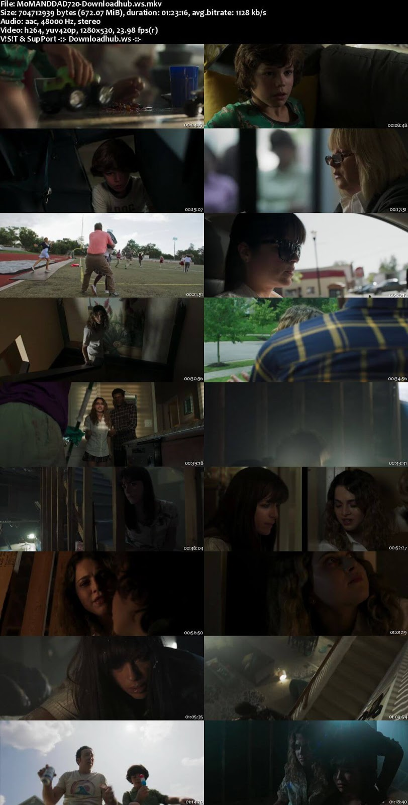 Mom and Dad 2018 English 720p Web-DL 650MB