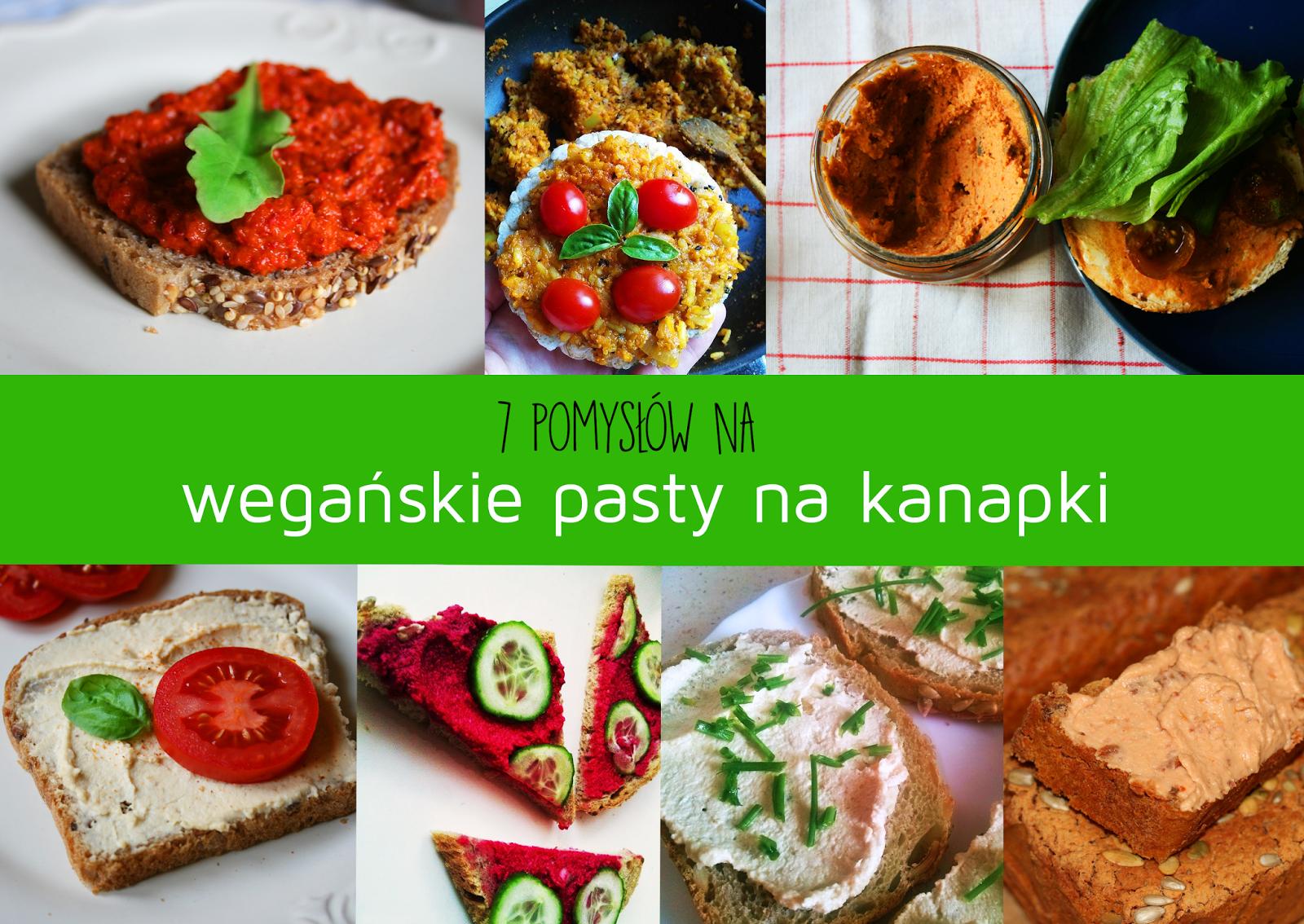 7 pomysłów na wegańskie pasty na kanapki