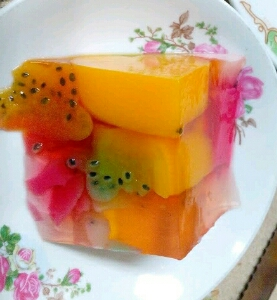 resep pudding buah aneka rasa