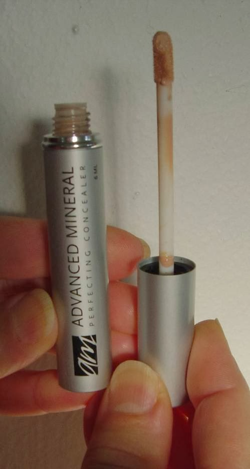 Advanced Mineral Makeup concealer out of tube.jpeg