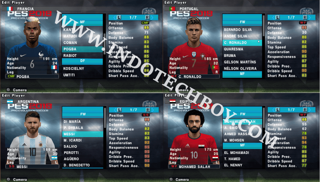 PES 2018 Patch Mod by Chelito 19 v4 + Save Data Update 2018
