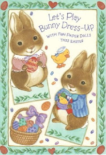 movable easter bunny paper doll miss paper dolls easter bunny card 6940
