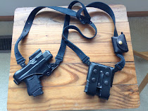 Galco Jackass Shoulder rig for Glock 26, Glock 19, Glock 17