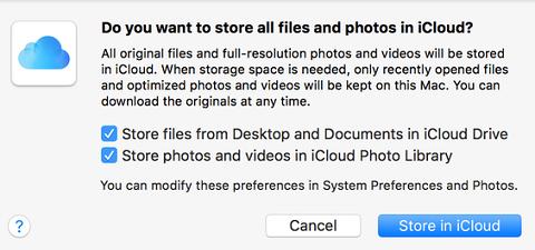Optimize storage on macOS Sierra- Fix Startup Disk almost full error