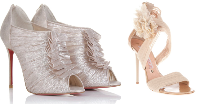 Wedding Trends Nude Wedding Shoes Belle The Magazine