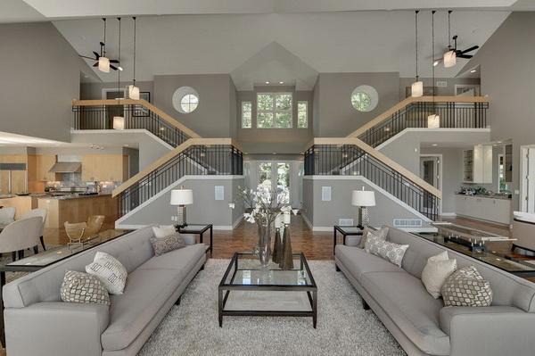 Conceptions de salle de séjour contemporaines