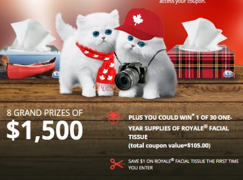 Royale Purr-oudly Canadian Contest