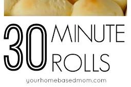30 Minute Rolls Recipe