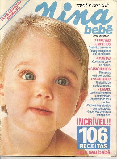 Revista NINA-Trico e Crochê Bebê