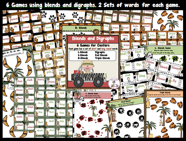 Blends and Digraph Games