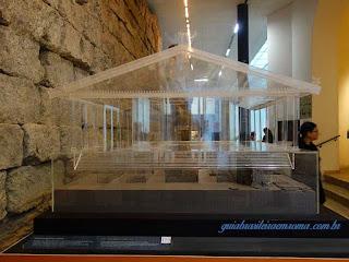 Reconstrução Templo de Júpiter, Museus Capitolinos