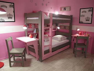 Habitación doble para niñas