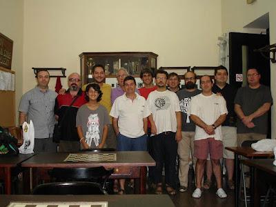Equipo del Club de Ajedrez Mataró en 2012