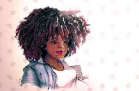 AFRO BLACK PREGNANT WOMAN