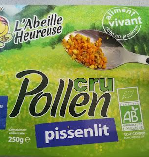 cuillère pollen cru
