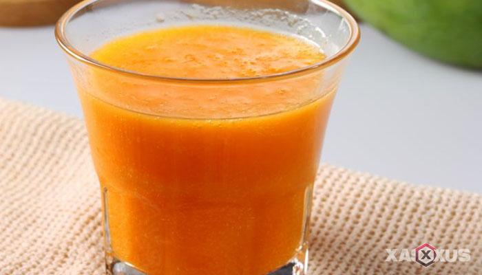 Resep cara membuat jus mangga campur jeruk