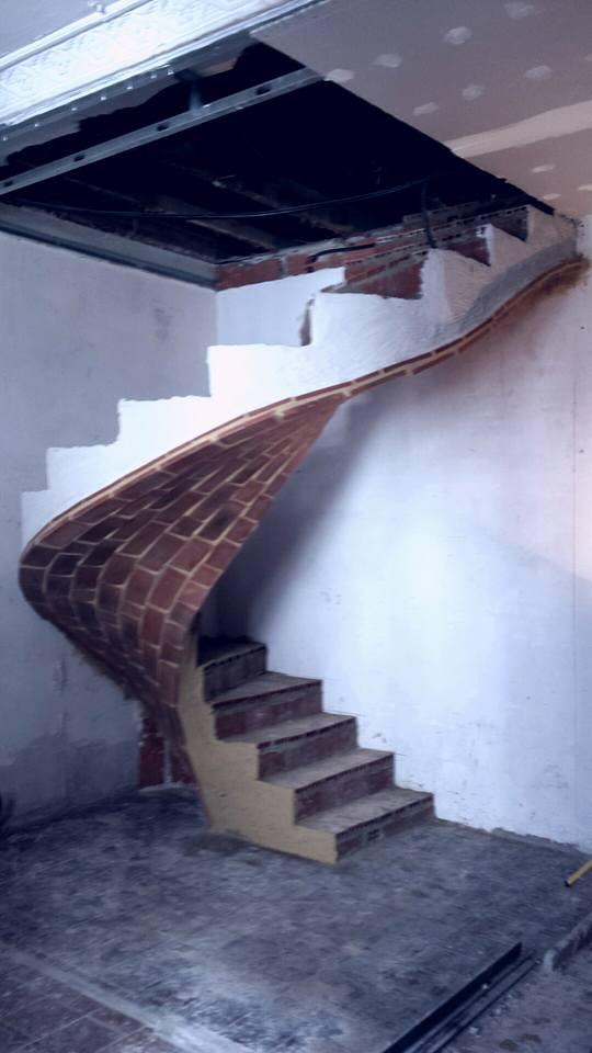 Bóveda tabicada Salvador Gomis Aviño : Escalera tabicada helicoidal ...