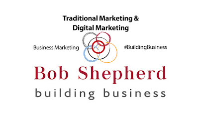 Linkedin article banner for Bob Shepherds article on business marketing