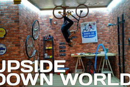 Up Side Down World Jogja, Harga Tiket Masuk & Lokasi Wahana Rumah Terbalik