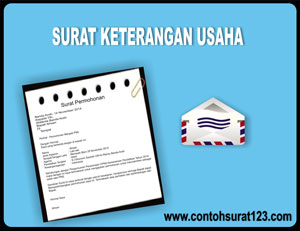 Gambar Contoh Surat Keterangan Usaha dari Kepala Desa