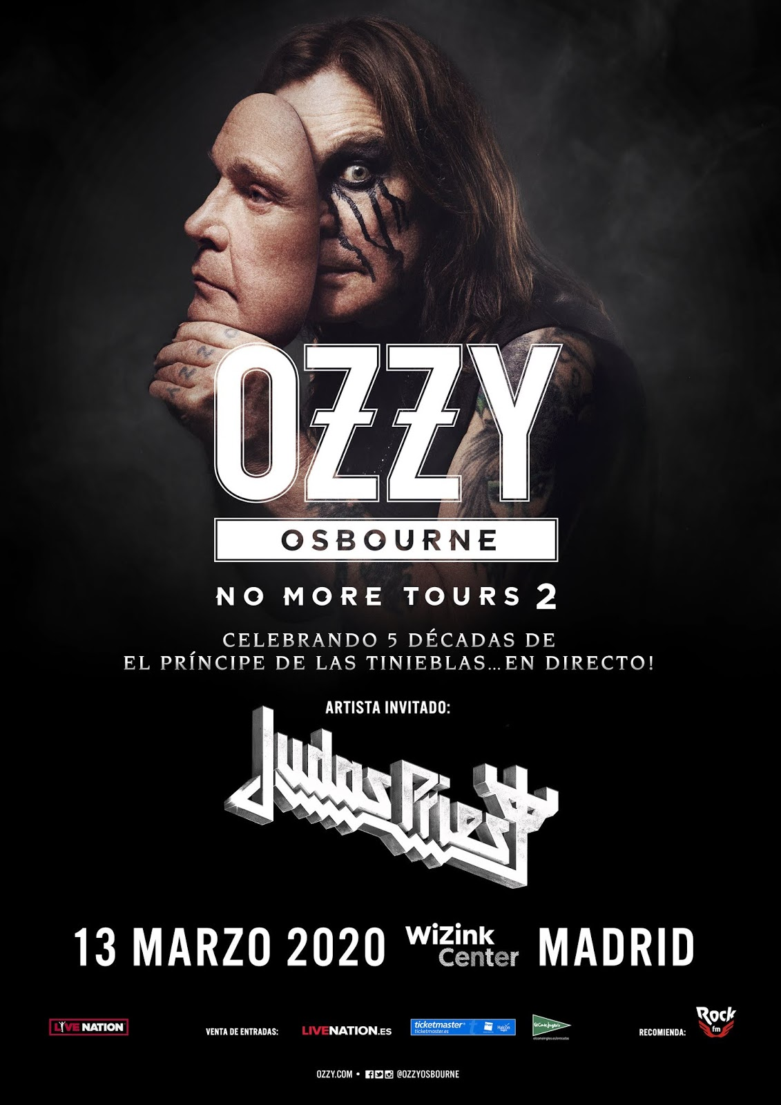 Ozzy Osbourne 'No more Tours 2'