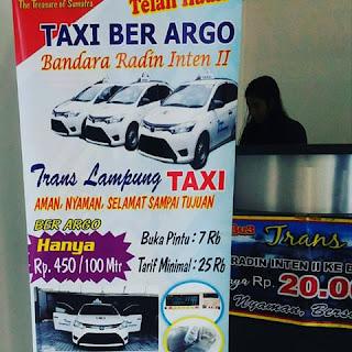 taxi lampung