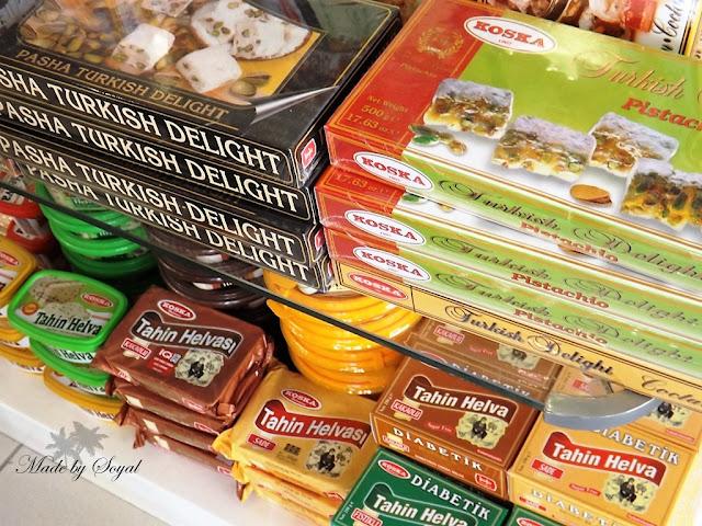 tureckie smakołyki