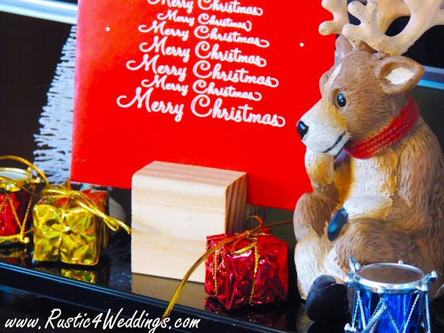 DIY Christmas Card Holder Idea