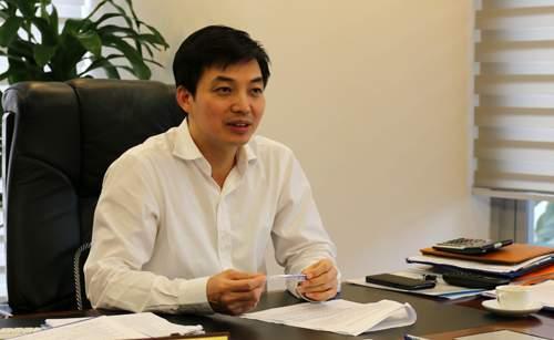 Ông Vũ Văn Thắng - Phó tổng giám đốc PVI - đơn vị cung cấp bảo hiểm cháy nổ cho Carina Plaza