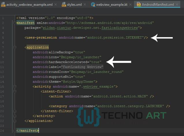 WildanTechnoArt-Create-FastLoading-Webview-Kotlin_Step7