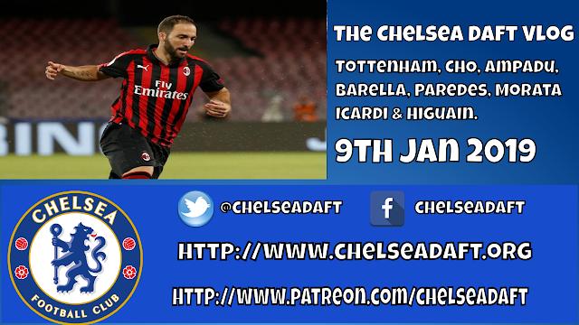 Tottenham | Hudson-Odoi | Ampadu | Barella | Paredes | Morata | Icardi & Higuan | The Chelsea Daft Vlog.