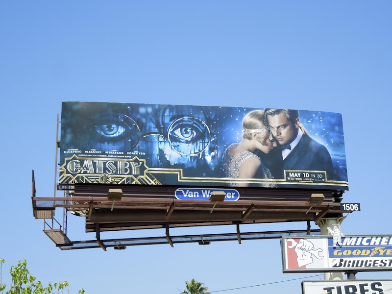 Great Gatsby remake billboard
