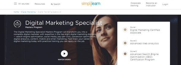 Digital Marketing Education (Course) Online
